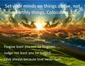 Colossians 3  2