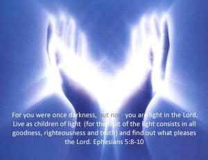 Light of the World eph. 5 8-10