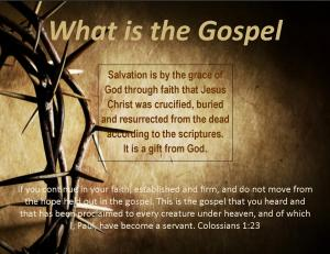 What is the Gospel 2014 1