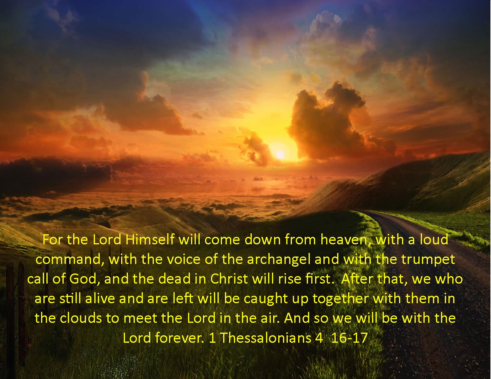 Image result for 1 thessalonians 4:16-17 picture image copyright free