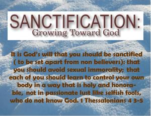 1 Thessalonians 4 3-5