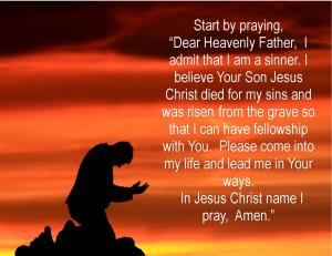 Believer's prayer 2014-1