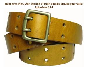 Belt of Truth Ephesians 6 14