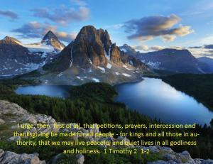 1 Timothy 2  1-2