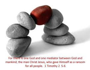 1 Timothy 2  5-6