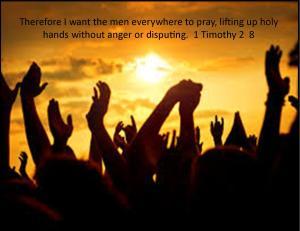 1 Timothy 2  8