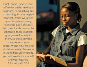 1 Timothy 4 13-16