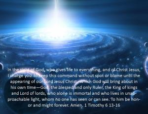 1 Timothy 6 13-16