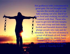 1 Timothy 6 6-10