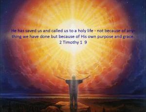 2 Timothy 1  9