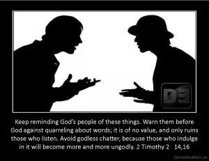 2 Timothy 2   14,16