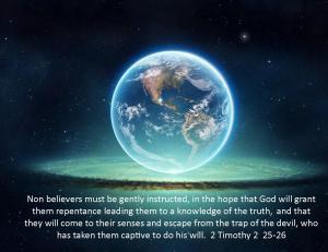 2 Timothy 2  25-26