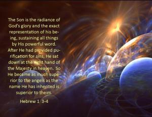 Hebrew 1  3-4