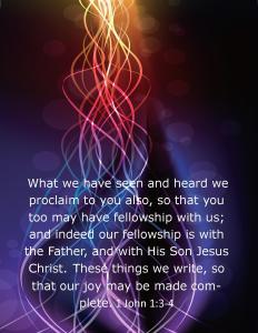 1 John 1 3 4