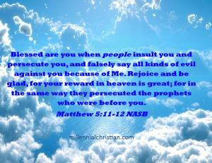 Matthew 5 11 12 NASB