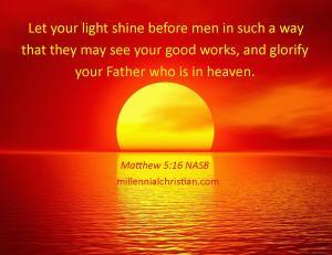 Matthew 5 16 NASB