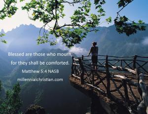 Matthew 5 4 NASB