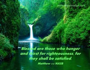 Matthew 5 6 NASB